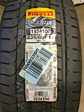 1 New 235 60 17 Pirelli P Zero Tire
