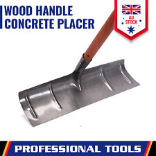 Concrete Placer Rake 500mm Wide Cementer Tool Wood Handle Master Finish New