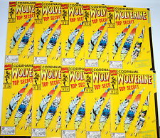 WOLVERINE #50 (NM) 10 copies! Cool Die-Cut Cover! 1991 Giant-Size 64 Pages!