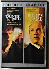 2-Dvd The Talented Mr Ripley & Ripley's Game Suspense - Extra Movies Ship Free