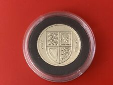 More details for rare 2015 rm brilliant uncirculated £1 one pound coin royal shield 5th portrait