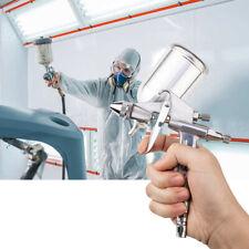 HVLP Gravity Feed Spray Gun Auto Paint Primer-metal Flake Air Regulator Filters