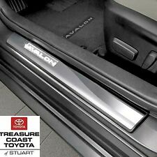 NEW OEM TOYOTA AVALON 2013-2018 STAINLESS STEEL ILLUMINATED DOOR SILLS 4PC SET