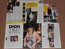 9- JOHN GALLIANO Magazine Clippings
