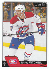 16/17 O-PEE-CHEE OPC BASE #401 TORREY MITCHELL CANADIENS *24502