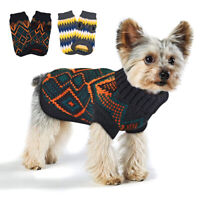 Dog Jumpers Medium Small Clothes Sweaters for Dogs Cats Pet Supplies Yorkie Pug
