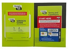 Straight Talk AT&T Compatible Standard & Micro SIM Activation Kit - Dual SIM LTE