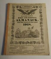 Antique Town & Country Almanac Hagers-Town John Gruber Dated 1918 Maryland