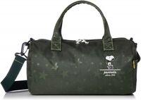 Hapitas PEANUTS SNOOPY 2Way Mini Roll Shoulder Bag Boston bag Japan NEW