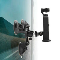 Suction Cup Car Holder Tripods Mount + Base Adapter For DJI OSMO Pocket Adapter