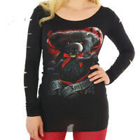SPIRAL DIRECT TED THE IMPALER T SHIRT TOP GOTHIC ALTERNATIVE