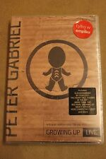 Peter Gabriel - Growing Up Live DVD  Polish Stickers NEW SEALED