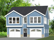 30x32 House -- 2 bedroom 1.5 Bath -- 1,014 sqft -- PDF Floor Plan -- Model 2