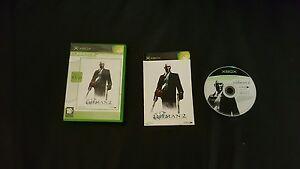 Hitman 2 Xbox original