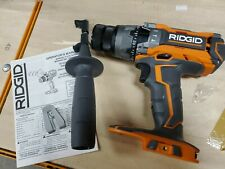 RIDGID R8611503 18V GEN5X Hammer Drill NEW WITH HANDLE, BELT CLIP& FREE SHIPPING