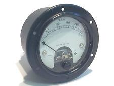 Vintage 250Vdc Medidor de panel de bobina móvil Calidad Premium ad1u11