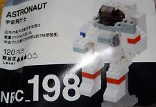 Astronaut Nanoblock Micro Sized Building Block Construction Toy NBC198 Kawada