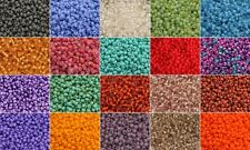 MORE COLORS 20g 3mm Czech Seed Beads 08/0 Preciosa Ornela Rocailles size 8