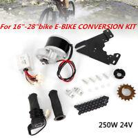 "For 16""-28""bike E-BIKE CONVERSION KIT 24V 250W ELECTRIC BICYCLE MOTOR KIT"