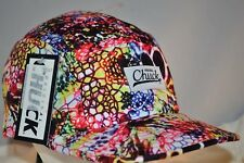 Original Chuck Hat,Cap,NWT,Adjustable,Multi-Color Design,Regular Bill,Buckle