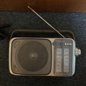Panasonic RF-2400 FM/AM Portable Radio Receiver
