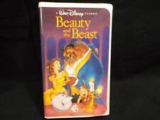 Walt Disney Black Diamond Classic Beauty and the Beast Movie 1992 VHS Rare 1