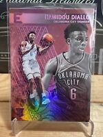 2018-19 Panini Chronicles Hamidou Diallo Pink Essentials RC #207 Thunder