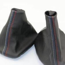 1XCar Gear Shifter Shift Knob Gear Gaiter Boot Cover For BMW E46 3 Series E36 M3