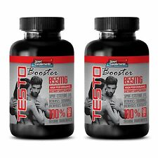 TESTOBOOSTER T-855 - Increase Muscle Mass Strength - Fat Burner Sexual Pills 2B