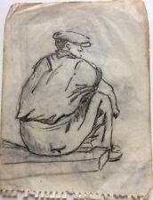 René Seyssaud (1867-1952) Portrait -P9V-