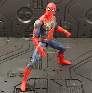 SPIDERMAN 17CM ACTIONFIGUR MARVEL DC COMICS AVENGERS SUPERHELD SPIELZEUG NEU