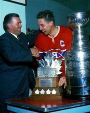 Jean Beliveau & Maurice Richard Montreal Canadiens 8x10 Photo