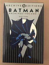 Dc Archives Batman Archive Vol's 1 2 3 4 5 all 1st prints