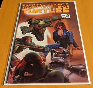 Teenage Mutant Ninja Turtles #2 3rd Printing !FIRST APPEARANCE OF APRIL O'NEIL!
