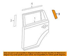 Toyota OEM 2008-2015 Scion xB Exterior Rear Black Out Tape Left 7593612010 NIP