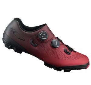 Shimano XC7 Carbon MTB Boa Mountain Bike Shoes Red SH-XC701 44 9.7 us