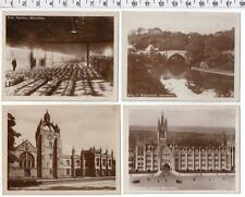 ABERDEEN - 4 Small Photographs / Fish Market / Brig O'Balgownie / Colleges
