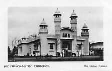 The Indian Palace The Franco-British Exhibition - 1908 Original Postcard (A2)