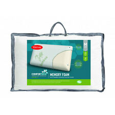 Tontine Comfortech Bamboo Derived Cover Memory Foam Medium Pillow RRP $59.95