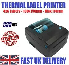 4x6 Shipping Label Printer USB Thermal 100x150mmPrinter Max paper diameter 110mm