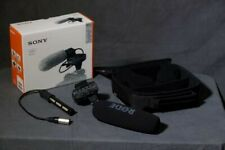 Sony XLR-K2M XLR adapter with Shotgun/On-Device Cable Microphone