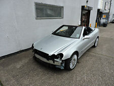 07 Mercedes-Benz CLK200 Convertible Auto Avantgarde Damaged Salvage Repairable