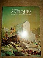 The Magazine ANTIQUES 1975 Stoneware Gin Flasks Winterthur Museum Pocketbooks