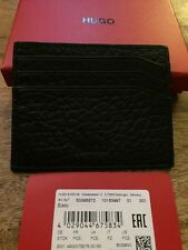 BNWT Hugo Boss Eddo Card Holder. Black. RRP £65