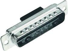 Harting Straight Hybrid Crimp D-Sub Connector, Plug, 10 (Signal), 3 (Power/Coax)
