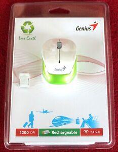 GENIUS Micro Traveler 9000R White, 240mAh Li-polymer Akku, 1200 DPI inkl.19%MWST
