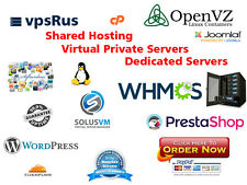 Web hosting for Unlimited domains cPanel/Softaculous, wordpress templates