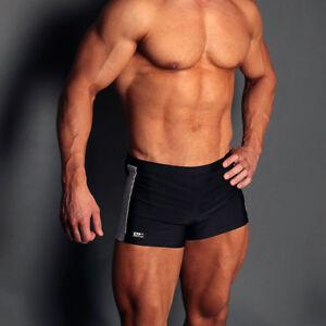 007 Retro Square  Cut Wrestling Style Swimming Trunks Swim Shorts UK POST