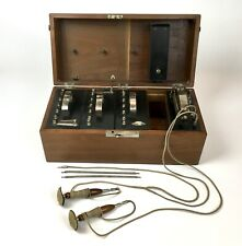 Antique 1881 Electro Medical Galvanic & Faradic Apparatus Instrument Quack Med