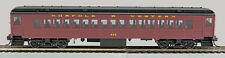"HO ""P-54""  Norfolk & West Coaches 2 pk (02)Tuscan sides,Black Roof (1-94006)"